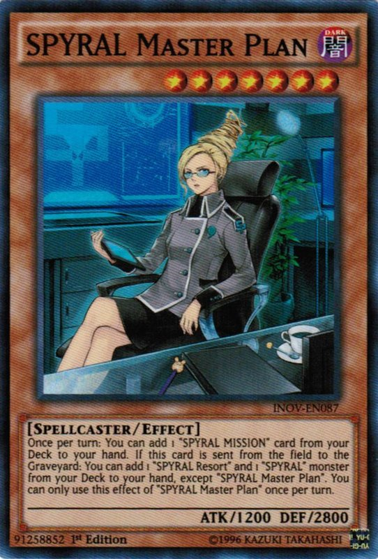 INOV-EN087 SPYRAL Master Plan Super Rare
