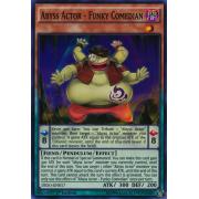 DESO-EN017 Abyss Actor - Funky Comedian Super Rare