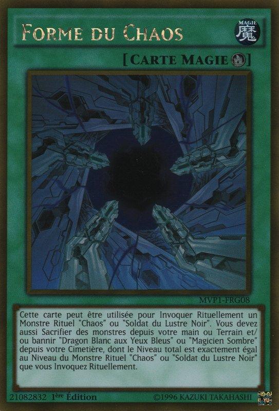 MVP1-FRG08 Forme du Chaos Gold Rare