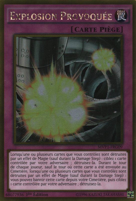 MVP1-FRG09 Explosion Provoquée Gold Rare