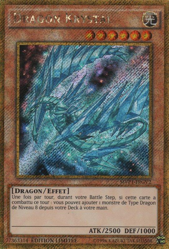 MVP1-FRGV2 Dragon Krystal Gold Secret Rare