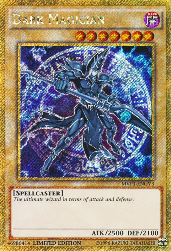 MVP1-ENG54 Dark Magician //Magicien Sombre MVP1-ENG54 Yu-gi-oh