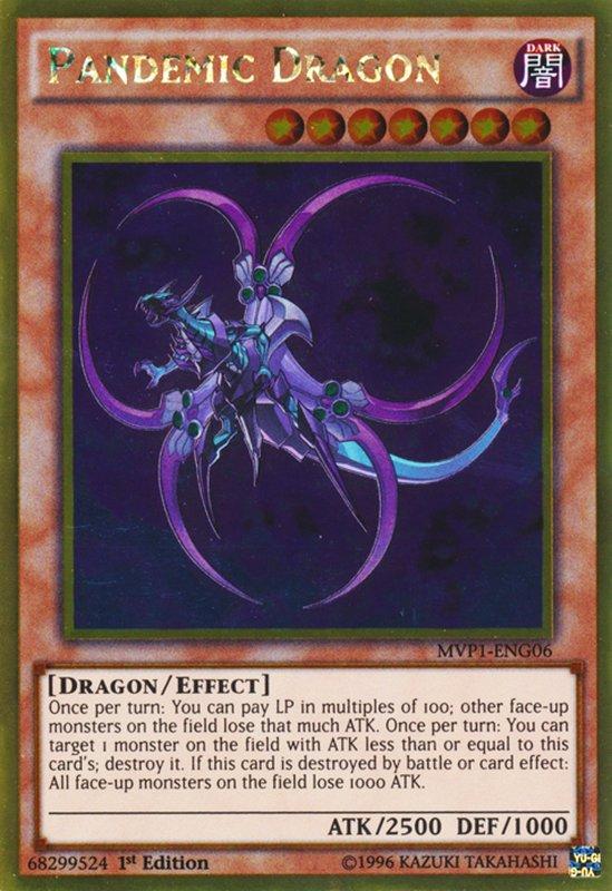 MVP1-ENG06 Pandemic Dragon Gold Rare