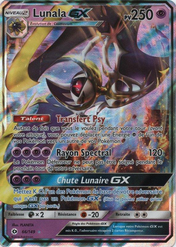 Sl01 66 149 lunala gx - Carte pokemon imprimer ...