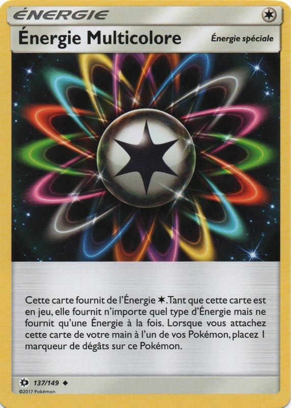 SL01_137/149 Énergie Multicolore Peu commune