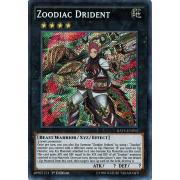 RATE-EN053 Zoodiac Drident Secret Rare