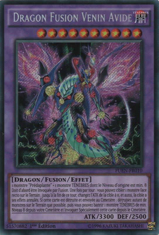 FUEN-FR010 Dragon Fusion Venin Avide Secret Rare