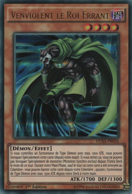 DUSA-FR016 Venviolent le Roi Errant Ultra Rare