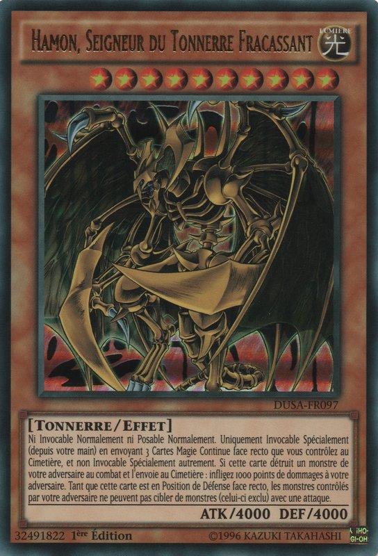 DUSA-FR097 Hamon, Seigneur Du Tonnerre Fracassant Ultra Rare