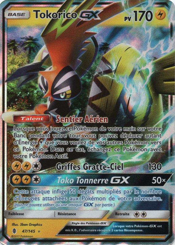 Sl02 47 145 tokorico gx - La plus forte carte pokemon du monde ...