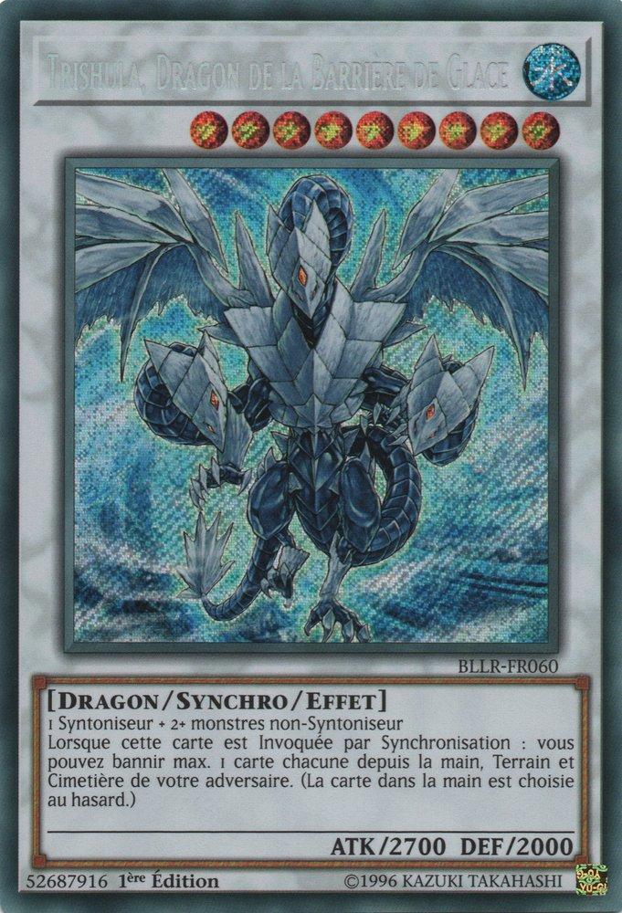 BLLR-FR060 Trishula, Dragon de la Barrière de Glace Secret Rare