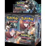 Boite de 36 Boosters Pokémon Soleil et Lune 3 Ombres Ardentes