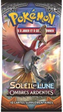 Booster Pokémon Soleil et Lune 3 Ombres Ardentes