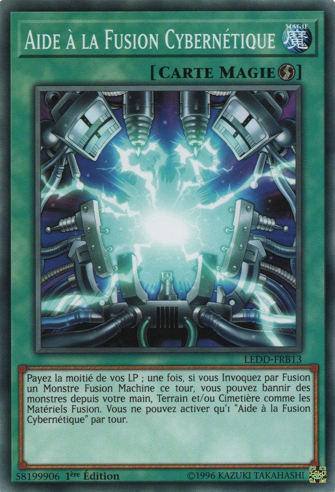 LEDD-FRB13 Aide à la Fusion Cybernétique Commune