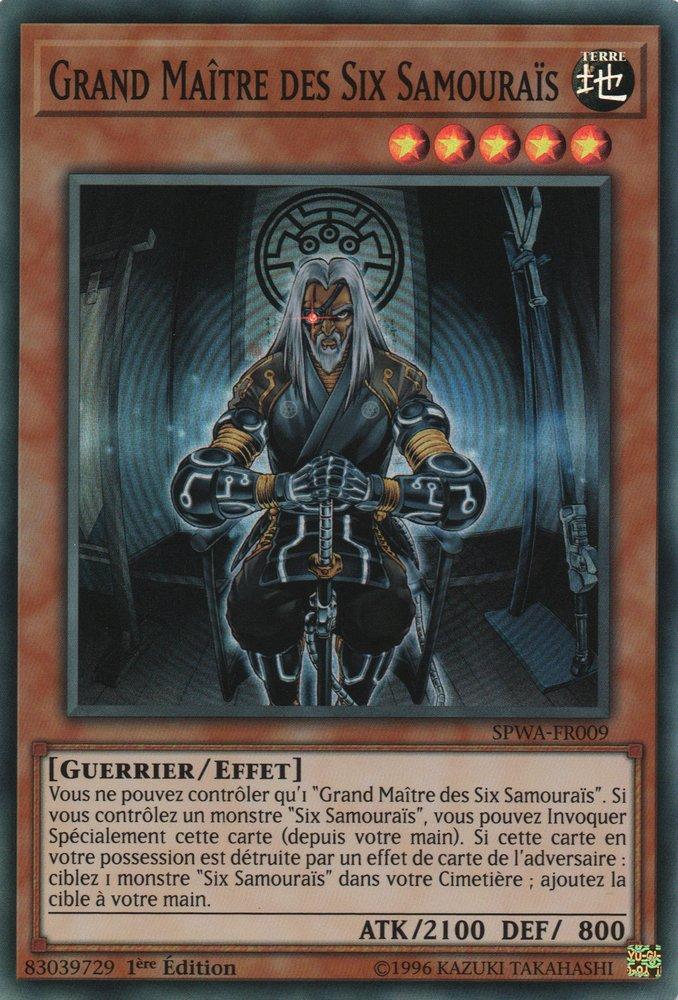 SPWA-FR009 Grand Maître des Six Samouraïs Super Rare