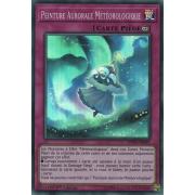 SPWA-FR041 Peinture Aurorale Météorologique Super Rare
