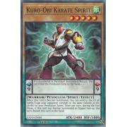EXFO-EN081 Kuro-Obi Karate Spirit Commune