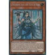 LCKC-FR016 Prêtresse avec des Yeux de Bleu Secret Rare
