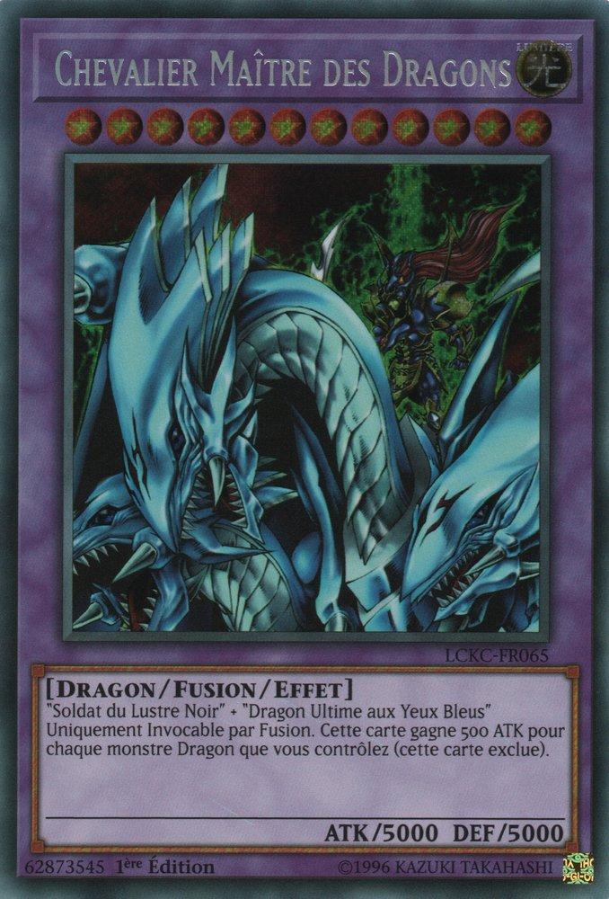 LCKC-FR065 Chevalier Maître des Dragons Secret Rare