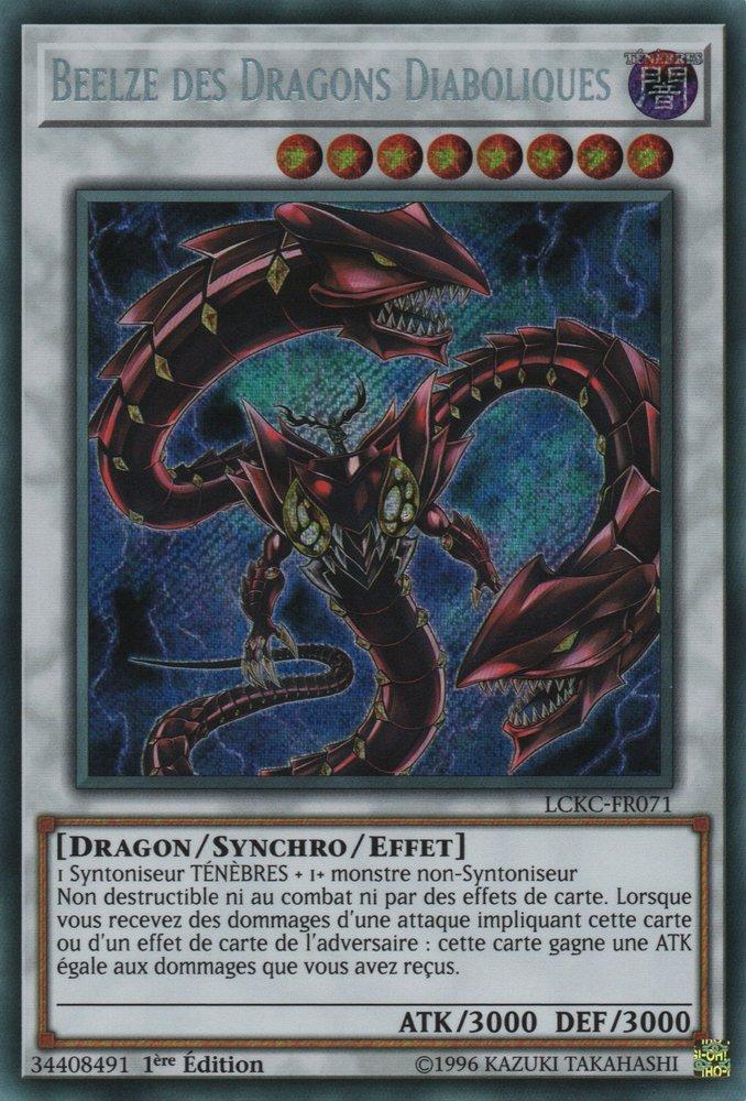 LCKC-FR071 Beelze des Dragons Diaboliques Secret Rare