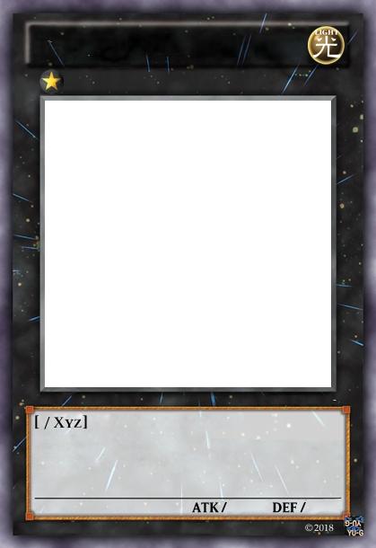 Lot de 10 cartes Monstre Xyz Yu-Gi-Oh