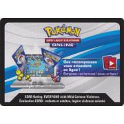 Code pour Booster Pokémon SL06 Soleil et Lune 6 Lumière Interdite