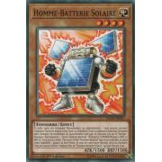 FLOD-FR027 Homme-Batterie Solaire Commune