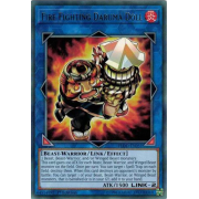 FLOD-EN051 Fire Fighting Daruma Doll Rare