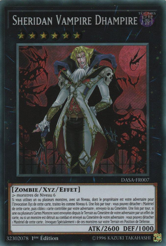 DASA-FR007 Sheridan Vampire Dhampire Secret Rare