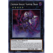 DASA-EN013 Crimson Knight Vampire Bram Super Rare