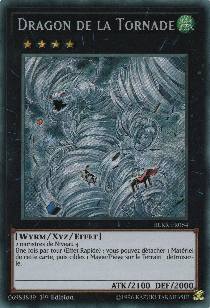 BLRR-FR084 Dragon de la Tornade Secret Rare