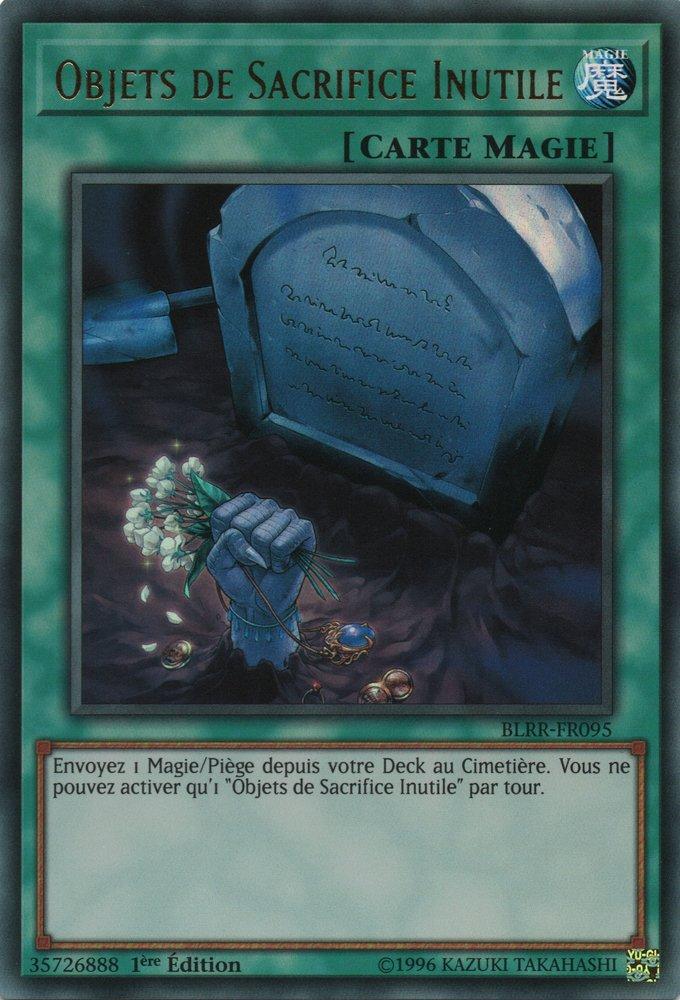 BLRR-FR095 Objets de Sacrifice Inutile Ultra Rare