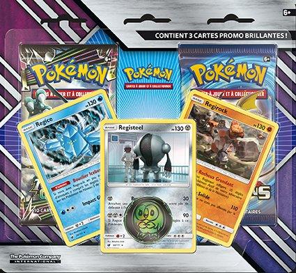 Pack 2 Boosters Pokémon SL07 Soleil et Lune 7 Tempête Céleste