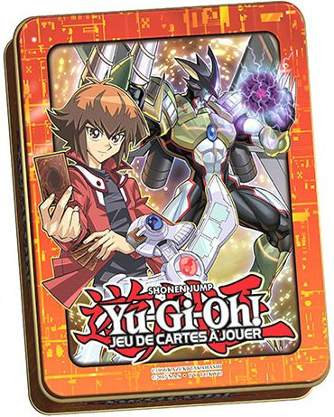 Méga Tin Box 2018 Jaden Yuki GX