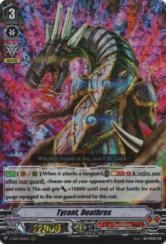 V-EB01/004EN Tyrant, Deathrex Triple Rare (RRR)