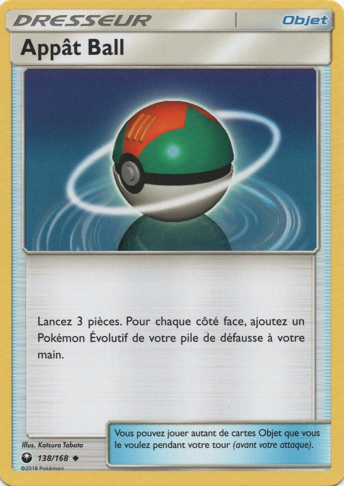 SL07_138/168 Appât Ball Peu commune
