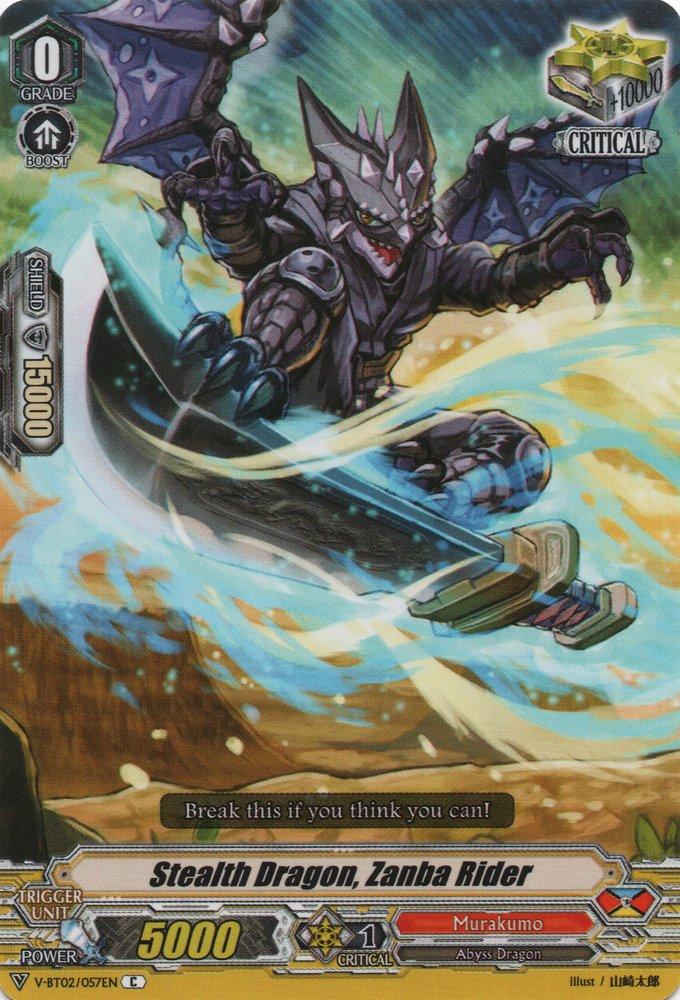 V-BT02/057EN Stealth Dragon, Zanba Rider Commune (C)