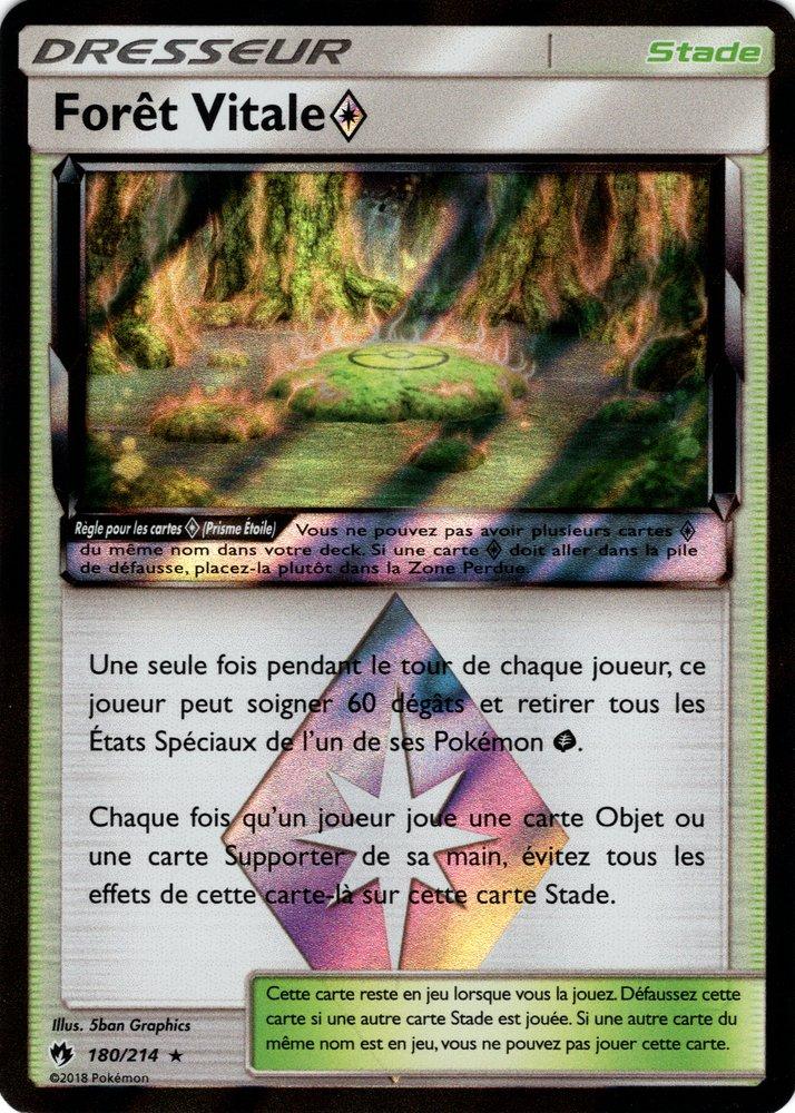SL08_180/214 Forêt Vitale Prisme Rare