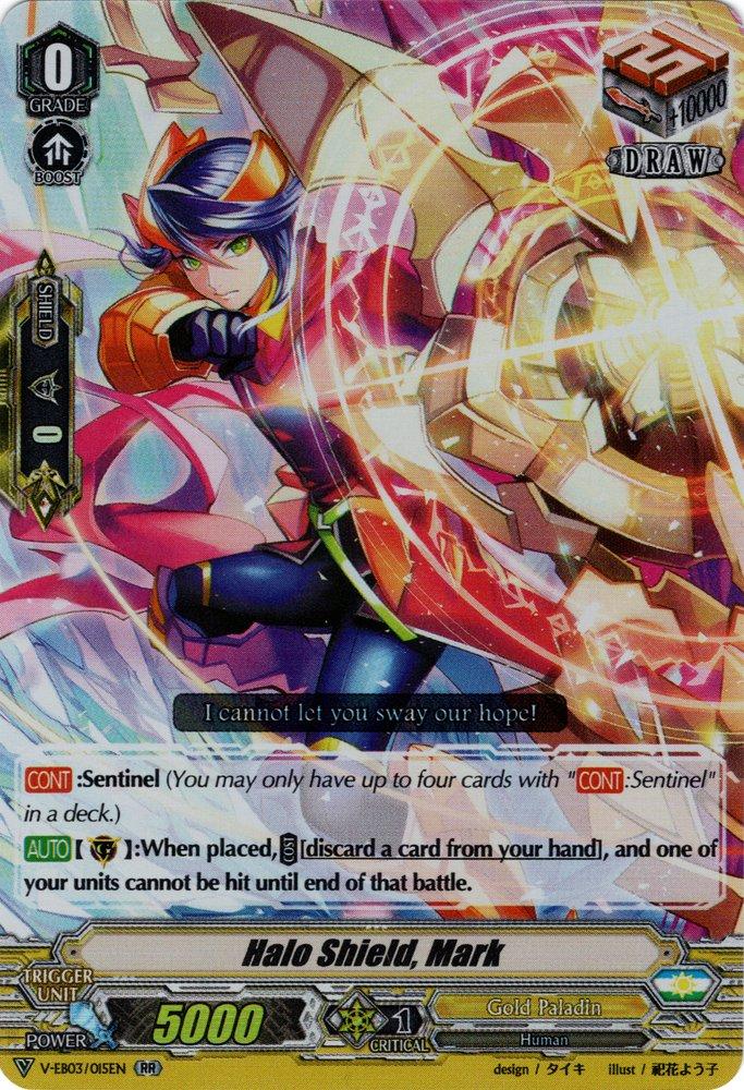 V-EB03/015EN Halo Shield, Mark Double Rare (RR)