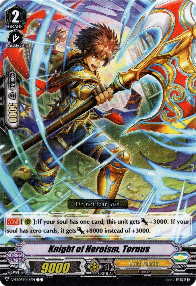 V-EB03/046EN Knight of Heroism, Tornus Commune (C)