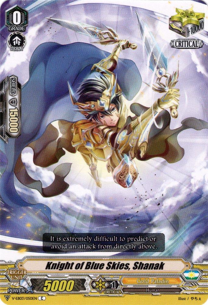 V-EB03/050EN Knight of Blue Skies, Shanak Commune (C)