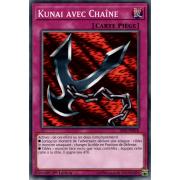 SS02-FRB18 Kunai avec Chaîne Commune
