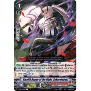 V-BT03/035EN Stealth Rogue of the Night, Sakurafubuki Rare (R)