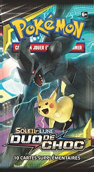 Booster Pokémon SL09 Soleil et Lune 9 Duo de Choc