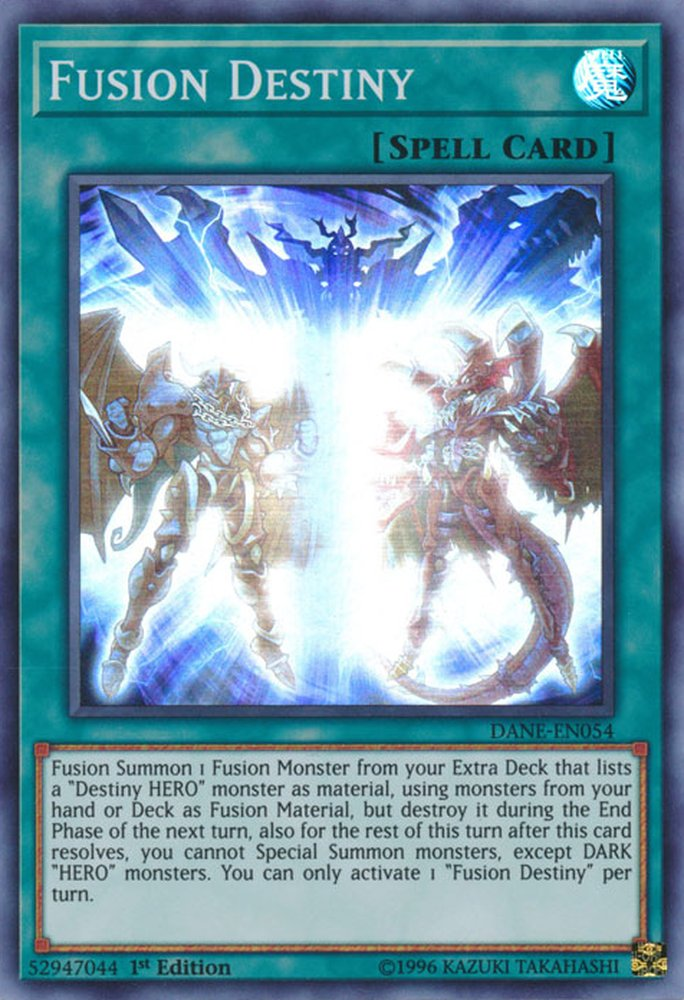DANE-EN054 Fusion Destiny Super Rare