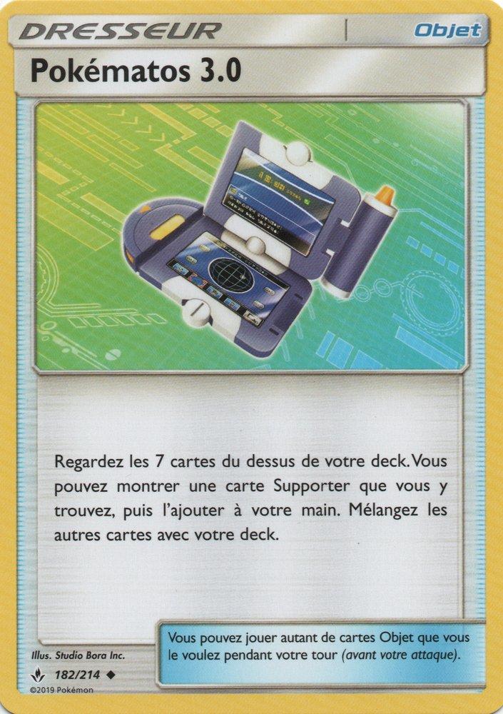 SL10_182/214 Pokématos 3.0 Peu commune