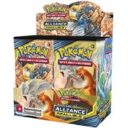 Boite de 36 Boosters Pokémon Soleil et Lune 10 Alliance Infaillible
