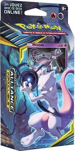 Deck Préconstruit Pokémon Soleil et Lune 10 Alliance Infaillible Mewtwo
