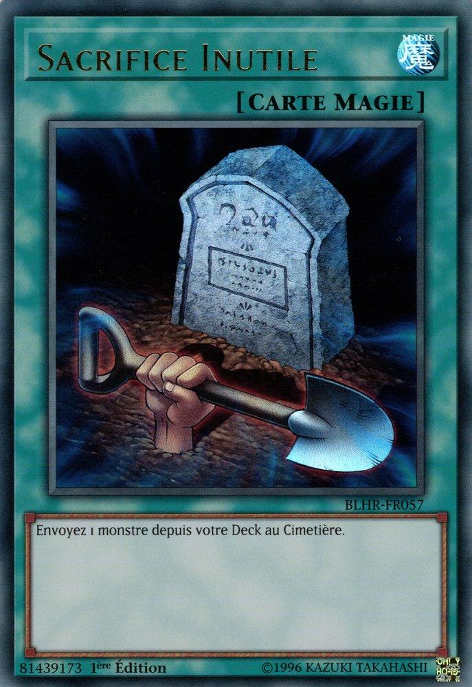 BLHR-FR057 Sacrifice Inutile Ultra Rare