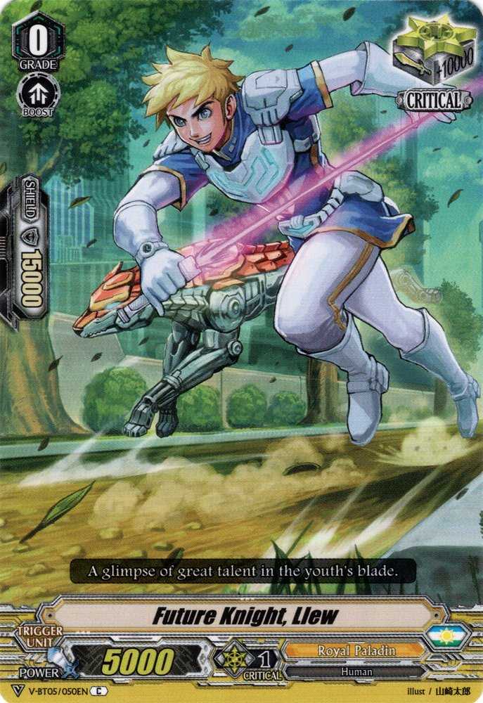 V-BT05/050EN Future Knight, Llew Commune (C)